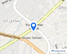 Transformer Chowk Flat Sized 425  Square Feet Is Available
