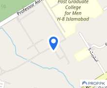 Commercial Plot For Sale On Main Double Road H8 Islamabad