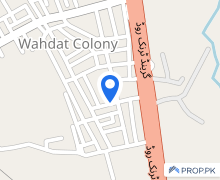 900  Square Feet House Available For Rent In Wahdat Colony
