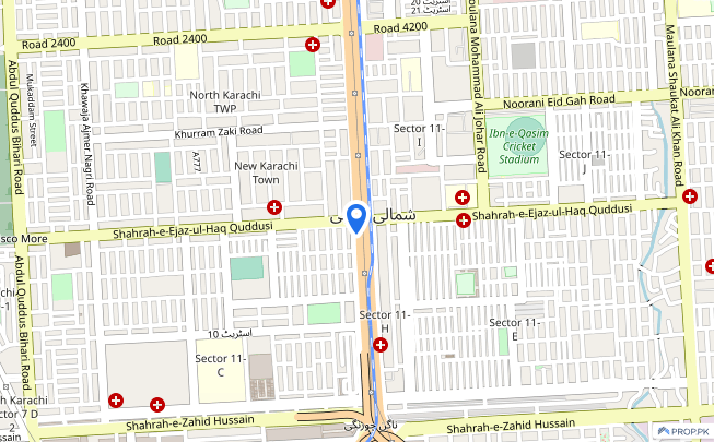 Industrial Land Is Available For Sale - North Karachi