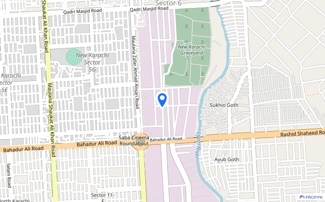 1200 Sq Yard Industrial Land Is Available For Sale - North Karachi - Sector 6-B