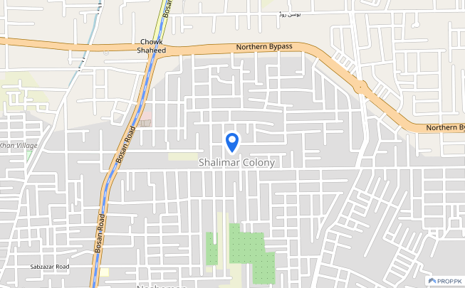 House Of 8 Marla Available In Shalimar Colony - Shalimar Colony