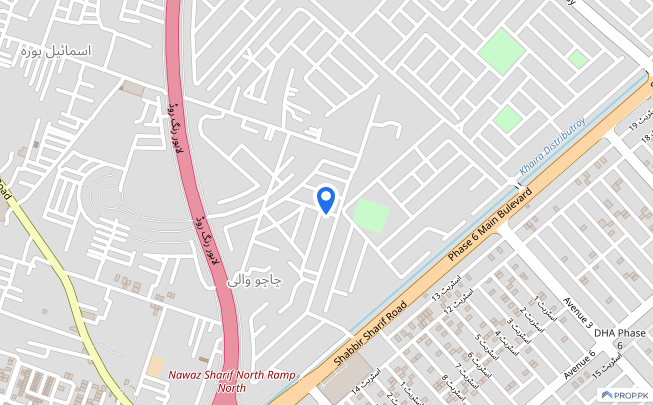 1 Kanal residential plot for sale in DHA Phase 8 - Block X