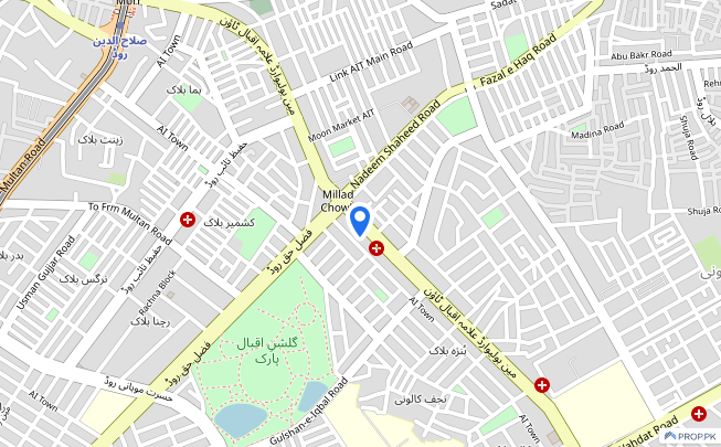 Prime Location Hall Is Available For Rent - Allama Iqbal Main Boulevard