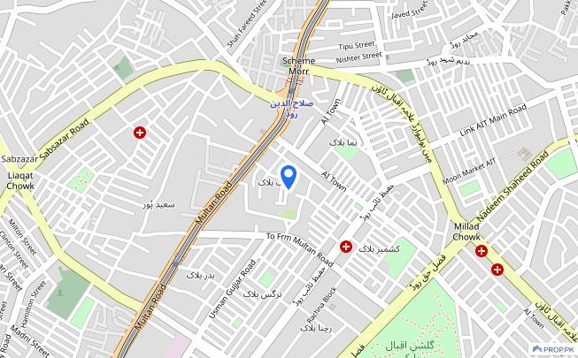 256  Square Feet Shop Is Available For Sale - Allama Iqbal Town - Zeenat Block