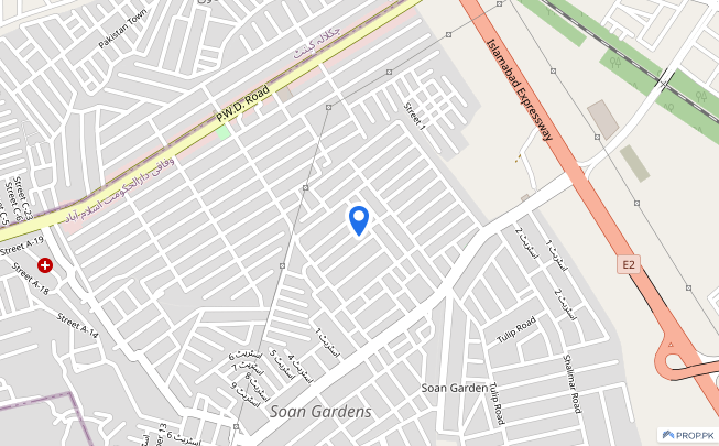 Plaza Is Available For Sale - Soan Garden - Block B